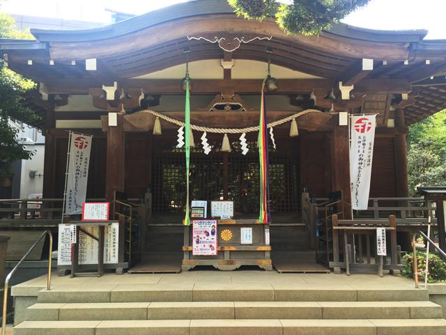 鳩森八幡神社本堂