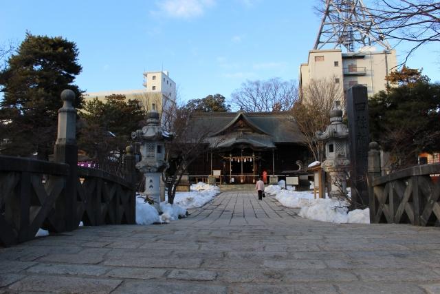 長野県松本市四柱神社