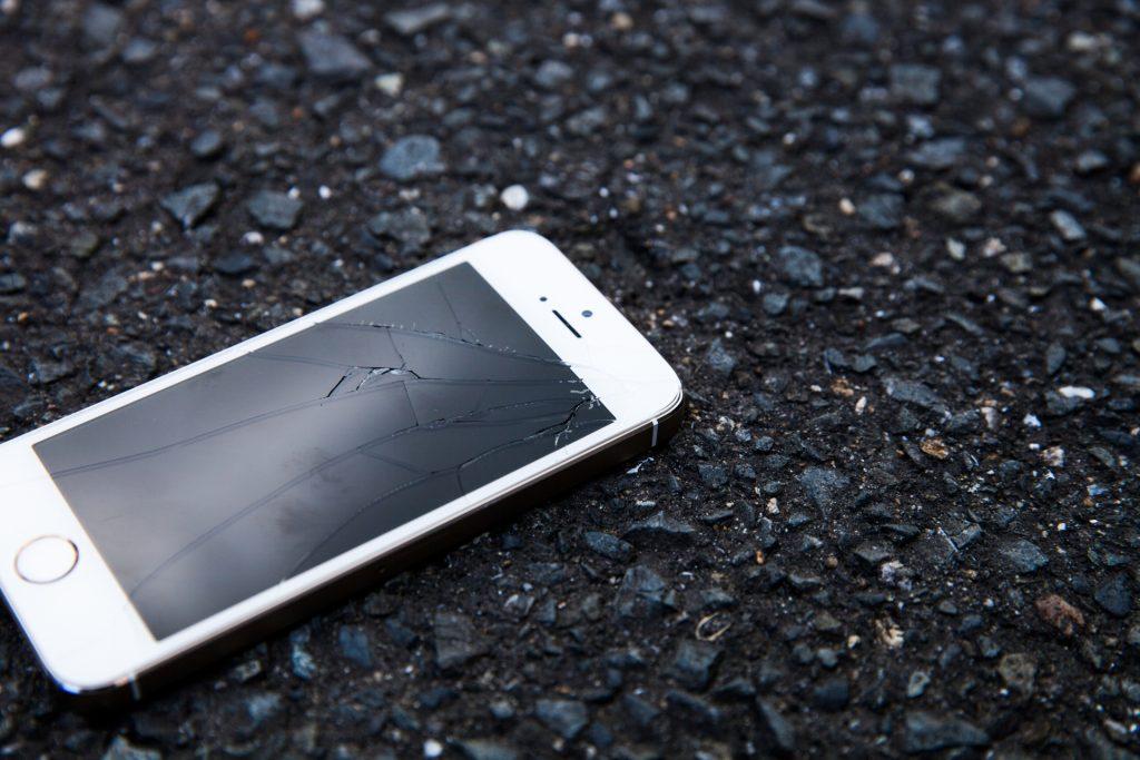 連絡のない携帯