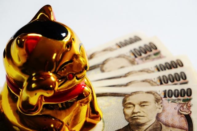 金運アップ占い招き猫