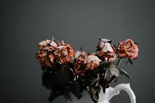 恋愛運低下NG風水ドライフラワー造花