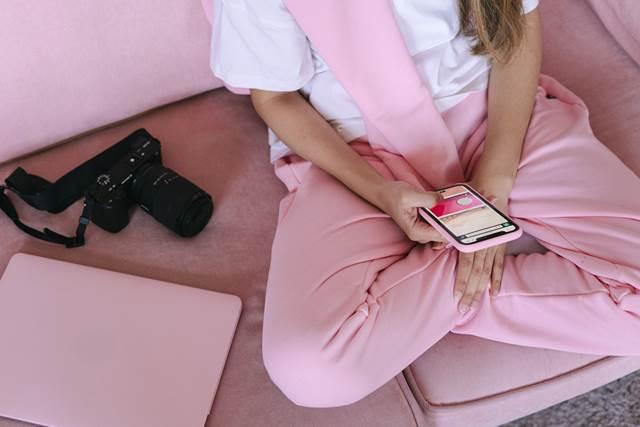 スマホケース桃色ピンクの持つパワー