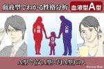 血液型占い父A型母A型から誕生したA型の人の特徴性格