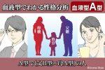 血液型占い父B型母A型から誕生したA型の人の特徴性格